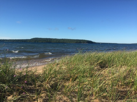 Lake Superior from the UP of Michigan