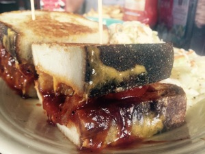 The famous grilled cheese. Vegan AND gluten free options