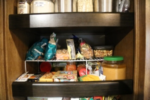 Pantry dividers give you more room on each shelf