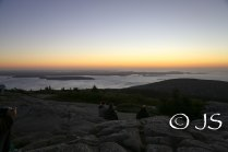 Sunrise at Acadia National Park