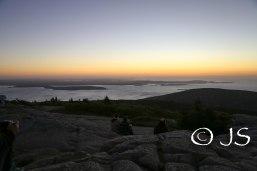 Sunrise at Acadia National Park