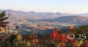 Valley view in Virginia